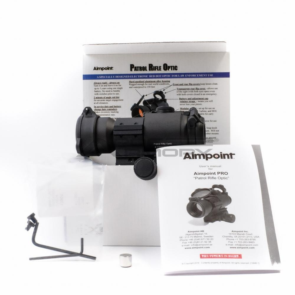 Aimpoint Pro Patrol Rifle Optic 30mm Red Dot Scope 399 95 Free Shipping With Promo Code Aimpoint30off Gun Deals