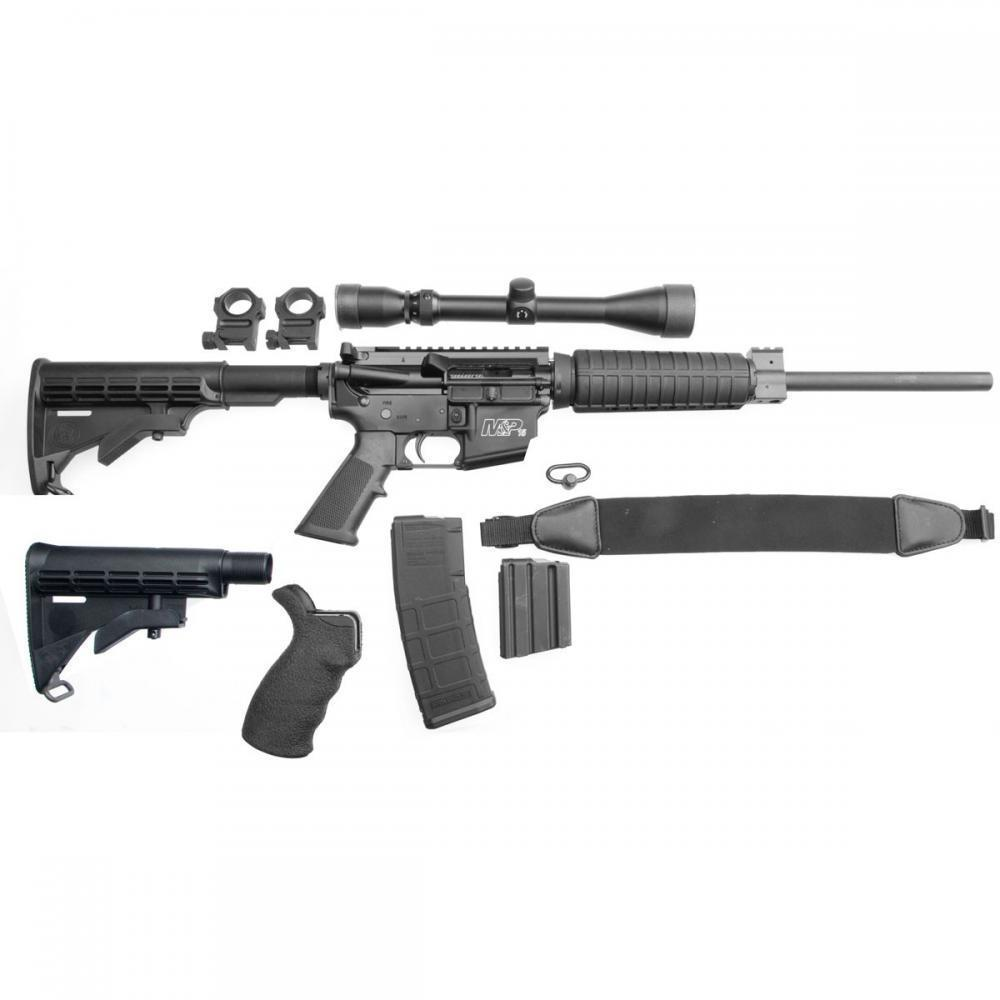 SMITH & WESSON M&P15OR 556 CARBINE PACKAGE - $499 99 ($9 99