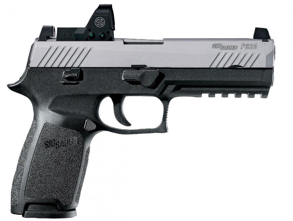 Sauer P320 RX Dual Tone Semi-Auto Pistol w/Romeo 1 Reflex sight - $699 97  (Free S/H over $50)