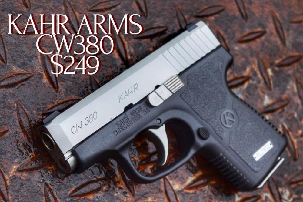 Kahr Arms KAHR CW380 - $219 + $15 S/H