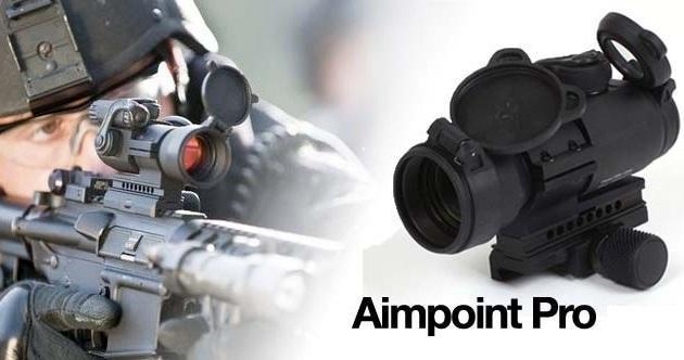 Aimpoint Pro Red Dot Sight 366 08 Shipped 2day With Prime Free S H Over 25 Gun Deals