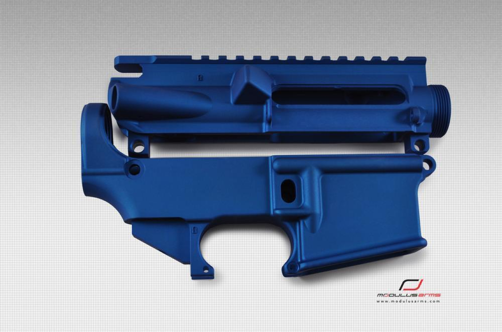 AR-15 Upper and 80% Lower Matched Sets in Black, Red, Blue, and Bead by  Modulus Arms - from $119 99