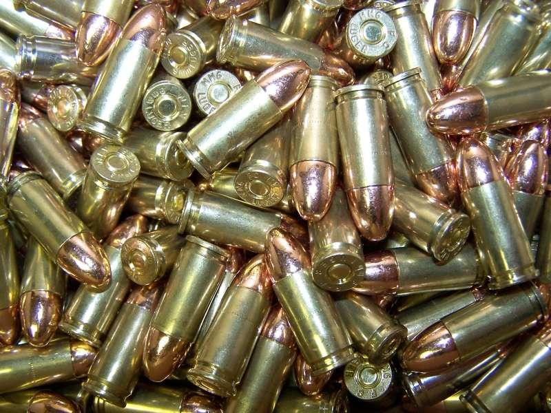 2000 Rounds bullets 9mm 115gr. FMJ - BVAC Brass Ammo - $338.99   gun.deals