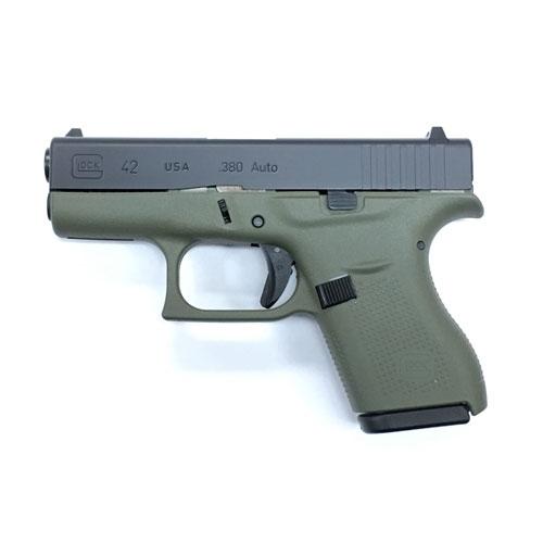 Glock 42 G4 380 Acp 6 1 Battlefield Green 389 99 Email Price Free S H On Firearms Gun Deals