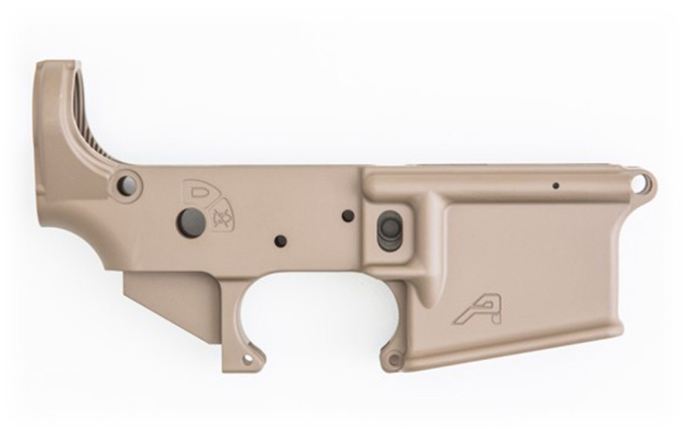 AR15 Stripped Lower Receiver, STS - FDE Cerakote - $69 99 (Free S/H over  $99)