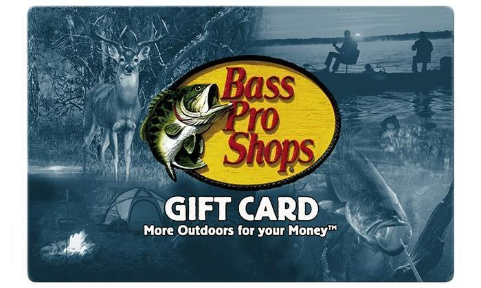 cabelas gift card at bass pro 100 bass pro egift card delivered instantly via email 6113