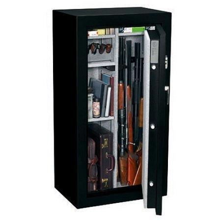 93d0a87d427 Stack-On 24 Gun Fire Resistant Security Safe with Electronic Lock FS-24-MB-E  Matte Black -  499 shipped