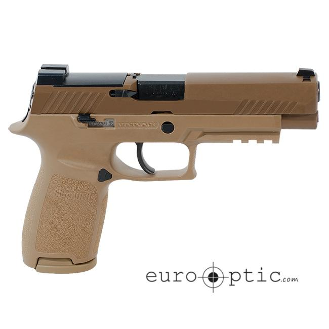 Sig Sauer M17 P320 Pistol 9mm Coyote SIGLITE w/DeltaPoint Pro Plate (2)  17rd Mag - $599 99 ($9 99 S/H on firearms)