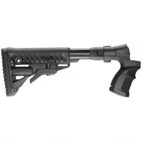 MAKO AR-15/M4 Collapsible Stock for Mossberg 500/590 Shotguns, Polymer,  Black - $109 97 + Free S/H