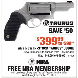 Taurus Judge .45LC/.410 Several Models as low as $399.99 ... - photo#39