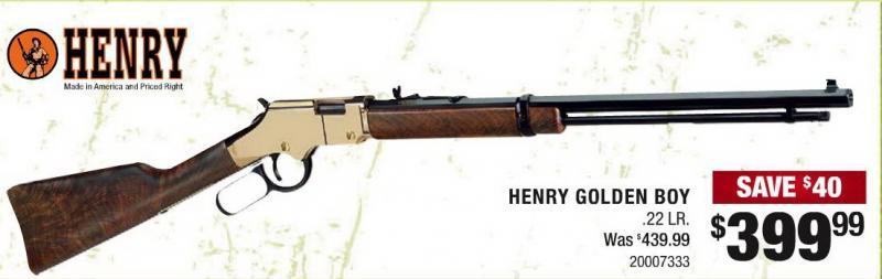 Henry Golden Boy 22 Lr 399 99 At Cabela S April 1 April 30