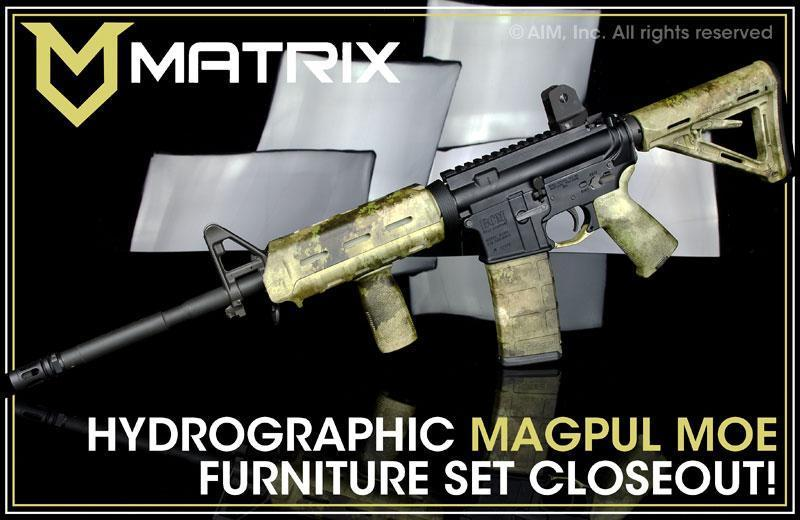 Matrix Di Bounty Hunter High Desert Magpul Moe Rifle Furniture Kit 103 55