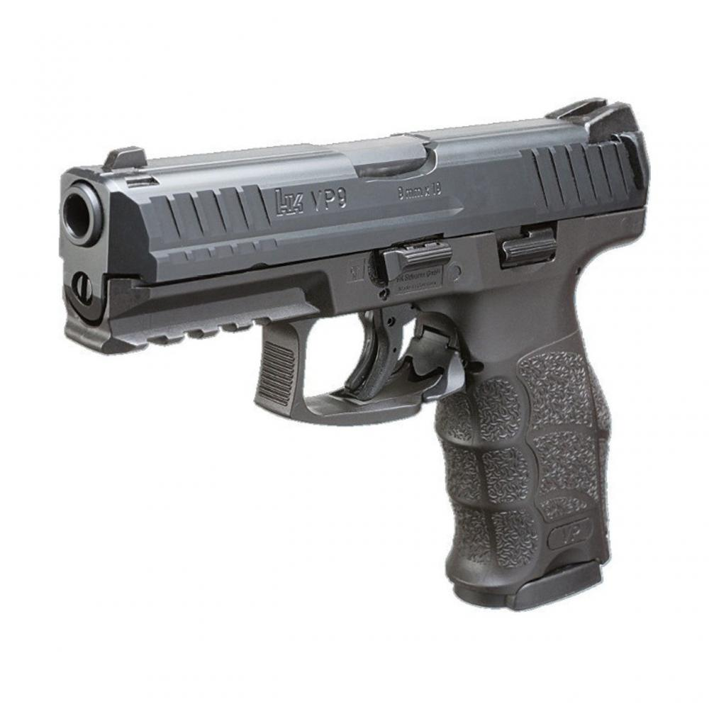 HK VP9 9mm LE Pistols 3/15rd Mags & Night Sights
