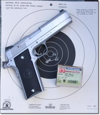 Coonan Arms  357 Magnum 1911 Pistol (GunsAmerica com)   gun