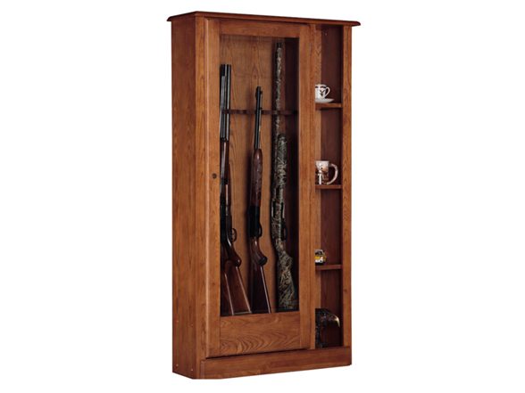 Wooden Gun Cabinets For The Sophisticated Rifler From 169 5 Sh At Woot 5 Flat Sh
