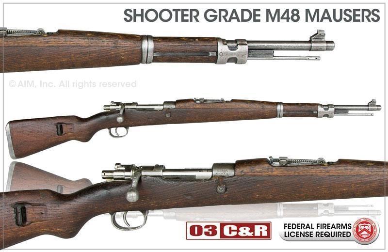 shooter grade yugoslavian model m48 m48a 8mm mauser rifles 189 95 rh gun deals Yugoslavian M48 Mauser Rifle M24 Mauser