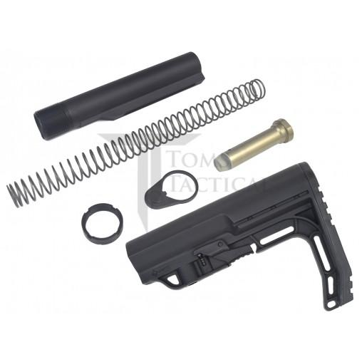 Toms Tactical AR-15 Mil-Spec Buffer Tube Kit + Mission First Tactical MFT  Stock - Black -  72.95 Free Shipping 1a72e073a4