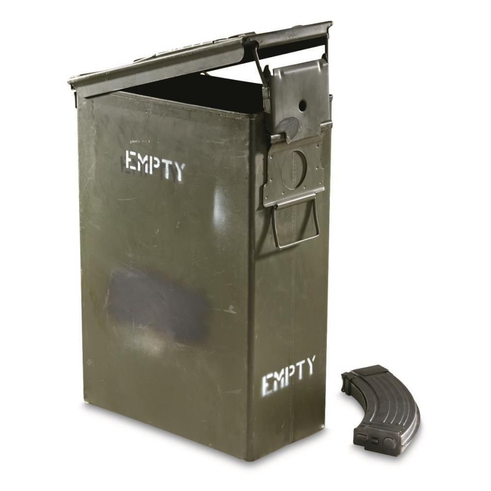 U S  Military Surplus PA70/B643 60mm Ammo Can, Used - $10 79