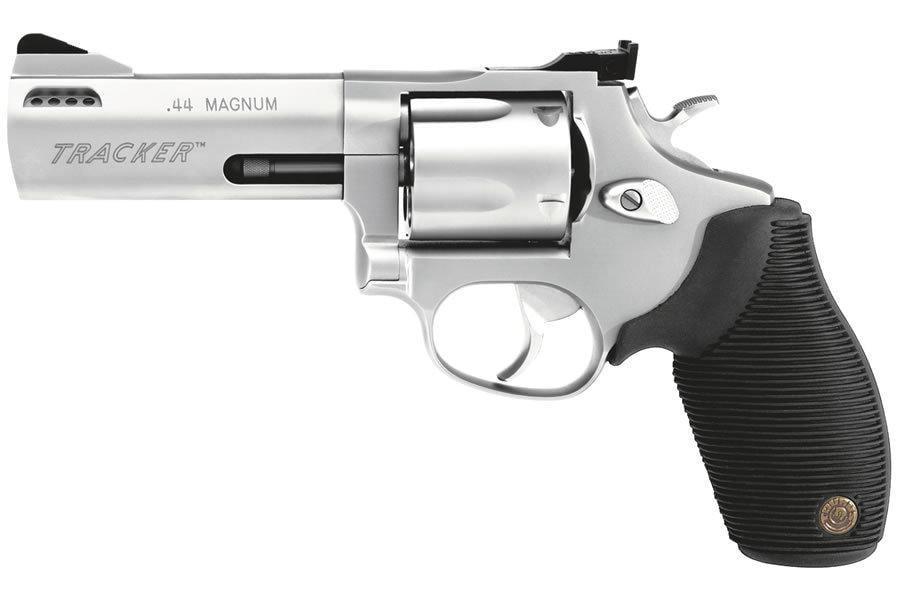 Taurus Tracker  44 Magnum Stainless Revolver 4-inch 5 Rd