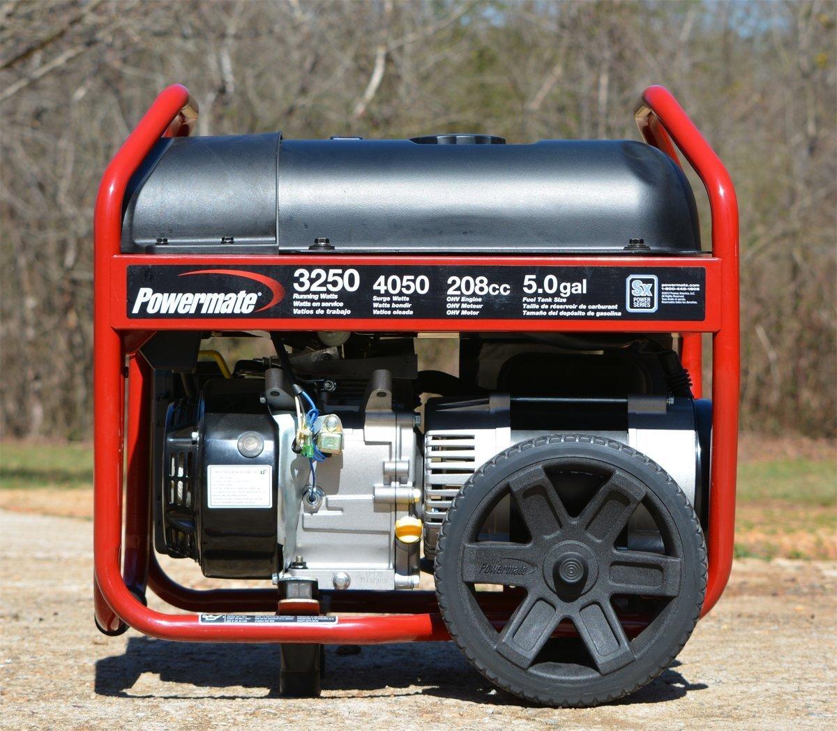 Powermate PM0123250, 3250 Running Watts/4050 Starting Watts, Gas Powered  Portable Generator - $309 99 (Free S/H over $25)
