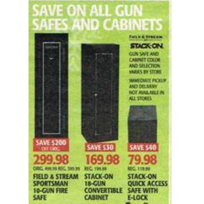 Stack-On 18-Gun Convertible Cabinet - $169.98 Dick's Sporting ...