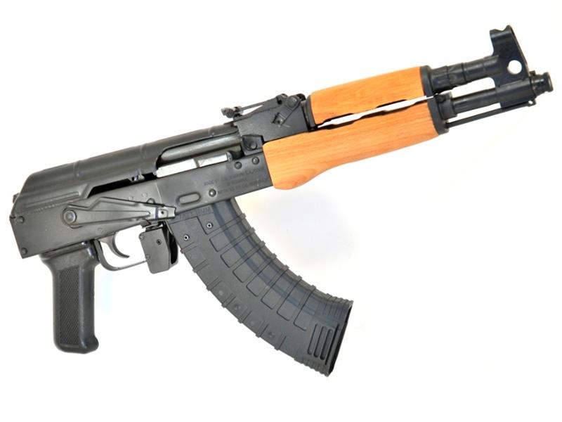 Romanian AK Draco Pistol, 7 62x39, Wood Stock, AKM Handgun - $643 14