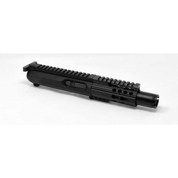 """AR 10MM 4″ """"Slick Side"""" Cone Complete Upper W/ BCG and CH – 10mm, Non-LRBHO  - $399 95"""