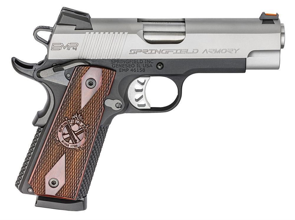 Springfield 1911 EMP Stainless / Black .40 Sw 3-inch 8rd ...