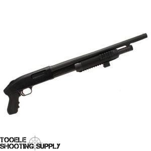 Mossberg 500 Cruiser 12 GA Shotgun with Pistol Grip, Laserlyte Center Mass  Laser, 18 5