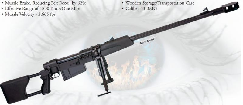 Eaa Zastava Black Arrow M93 50 Bmg Bolt Action 4000 Gundeals