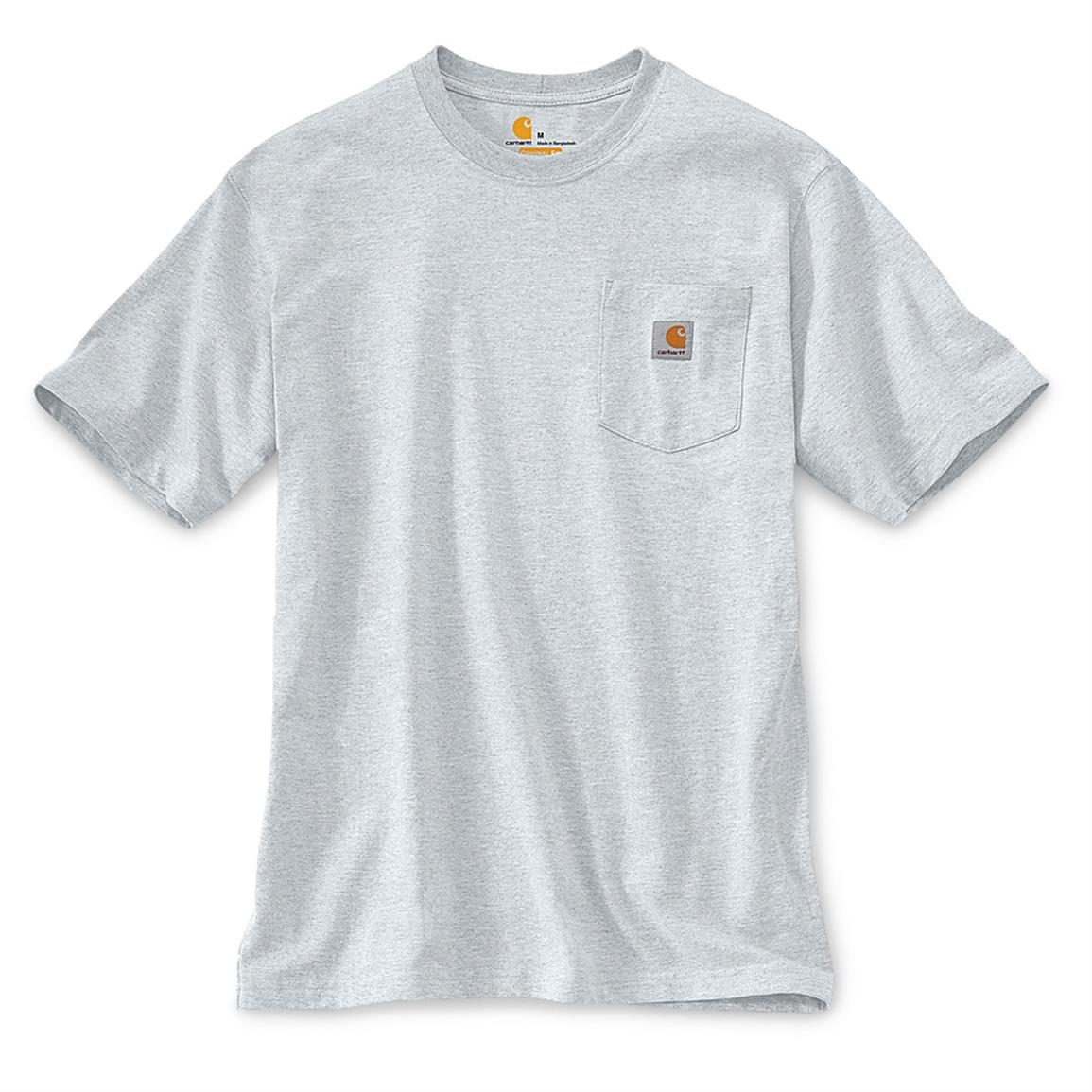 7571970cfc1 Carhartt Mens Long Sleeve Workwear Pocket T Shirt