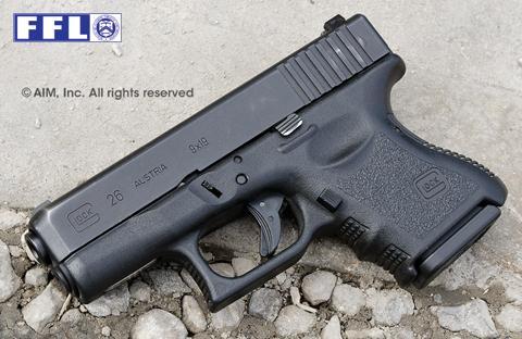Police Trade In Glock 26 9mm Handgun Gen 3 379 95 Gun Deals
