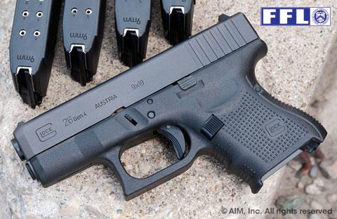 New Glock 26 9mm Handgun Gen 4 499 99 Gun Deals
