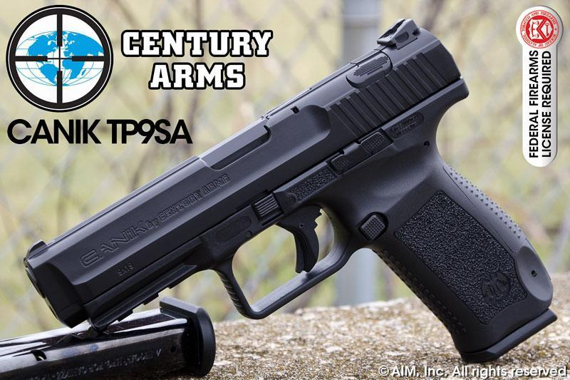 Century Arms Canik TP9SA 9mm Handgun - $339 95
