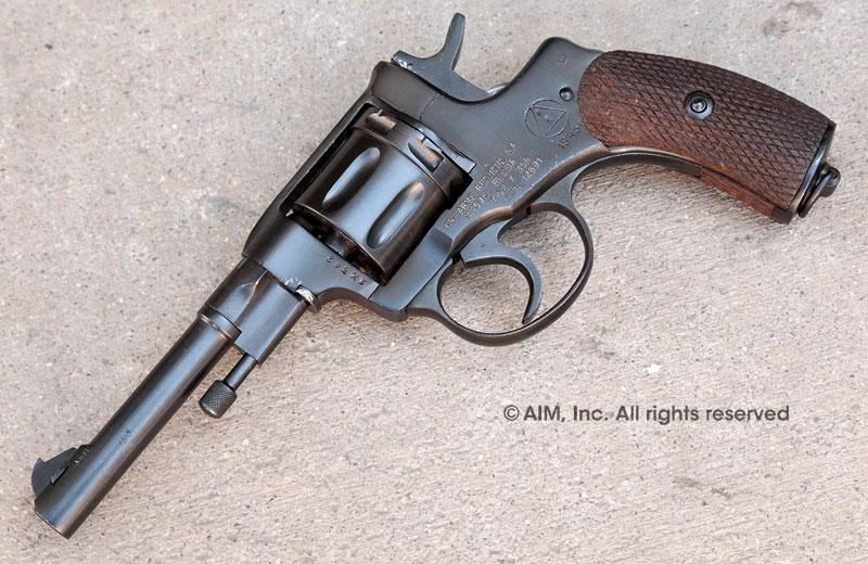Russian M1895 7 62x38R Nagant Revolver - $189 95