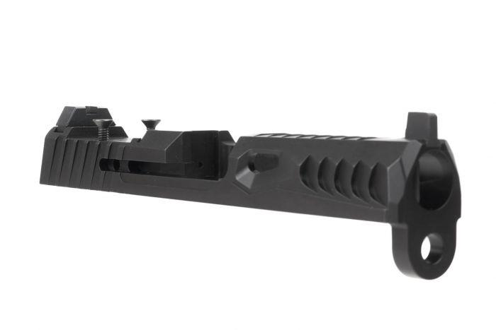 Norsso CZ P-10C Reptile RMR Slide Black Nitride - $496 05