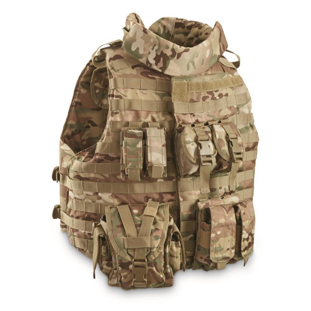 Mil-Tec Military-style Padded OCP Plate Carrier Vest -  24.79  44f4e8d8c0e