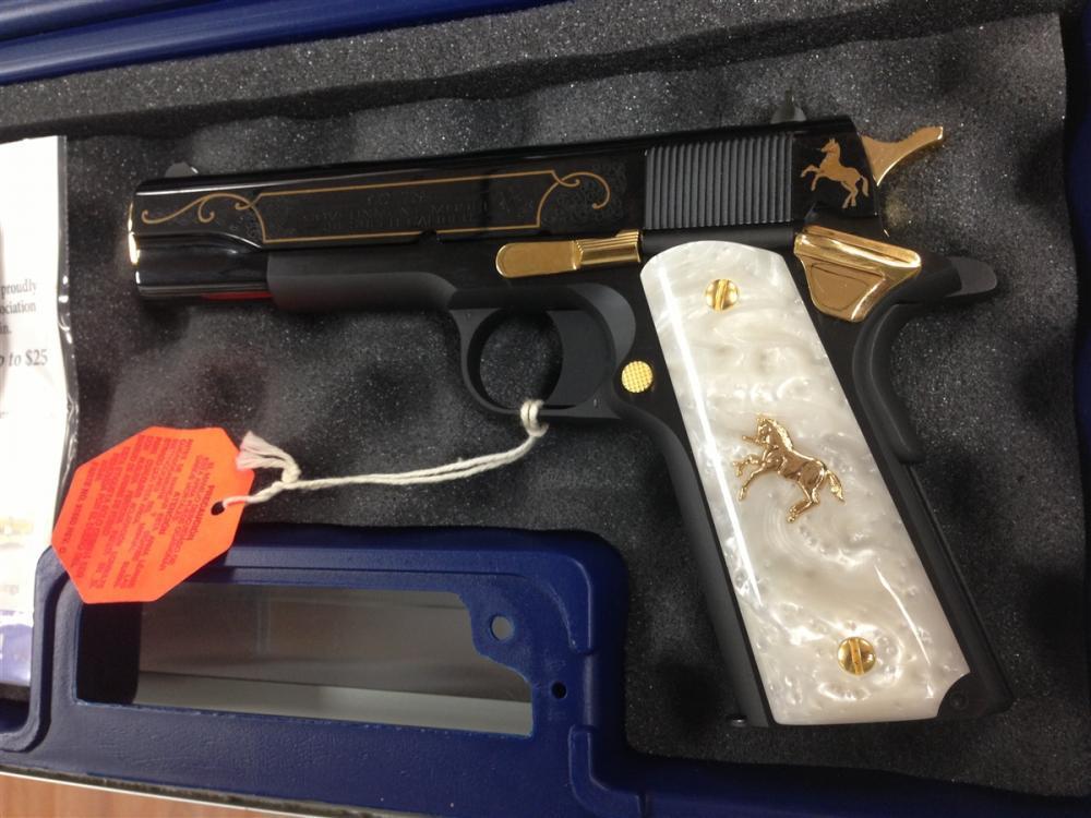 Lew Horton Exclusive Colt government model 38 super 5