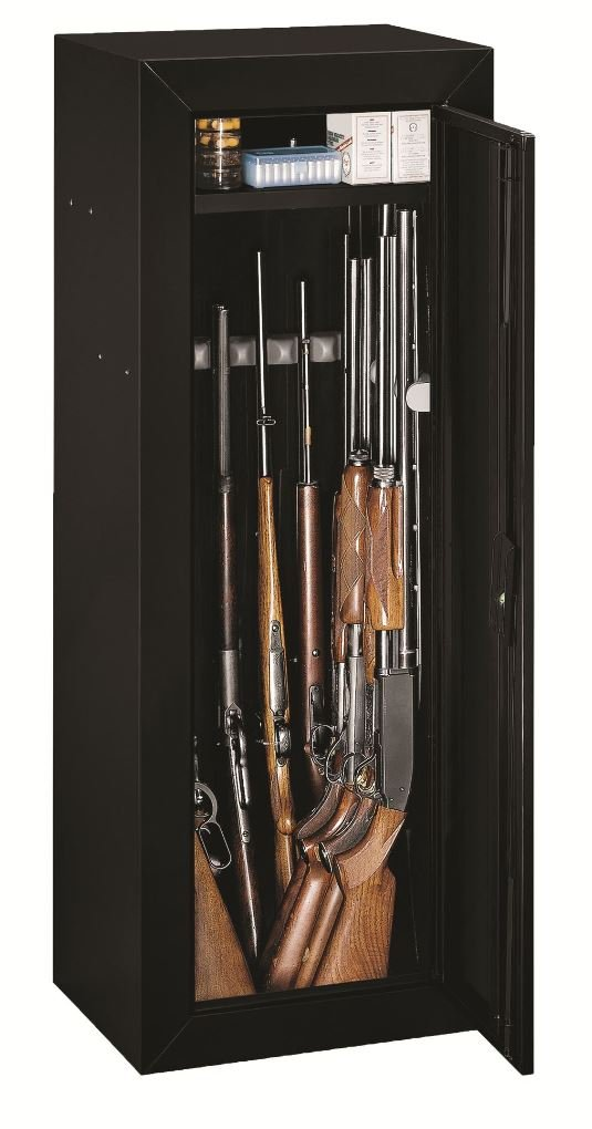 Gun Security Cabinet >> Stack-On 14-Gun Key-Lock Non-Fire Security Cabinet - $90 ...