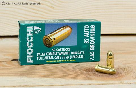 Fiocchi  32acp 73grn FMJ 50rd Box - $10 95