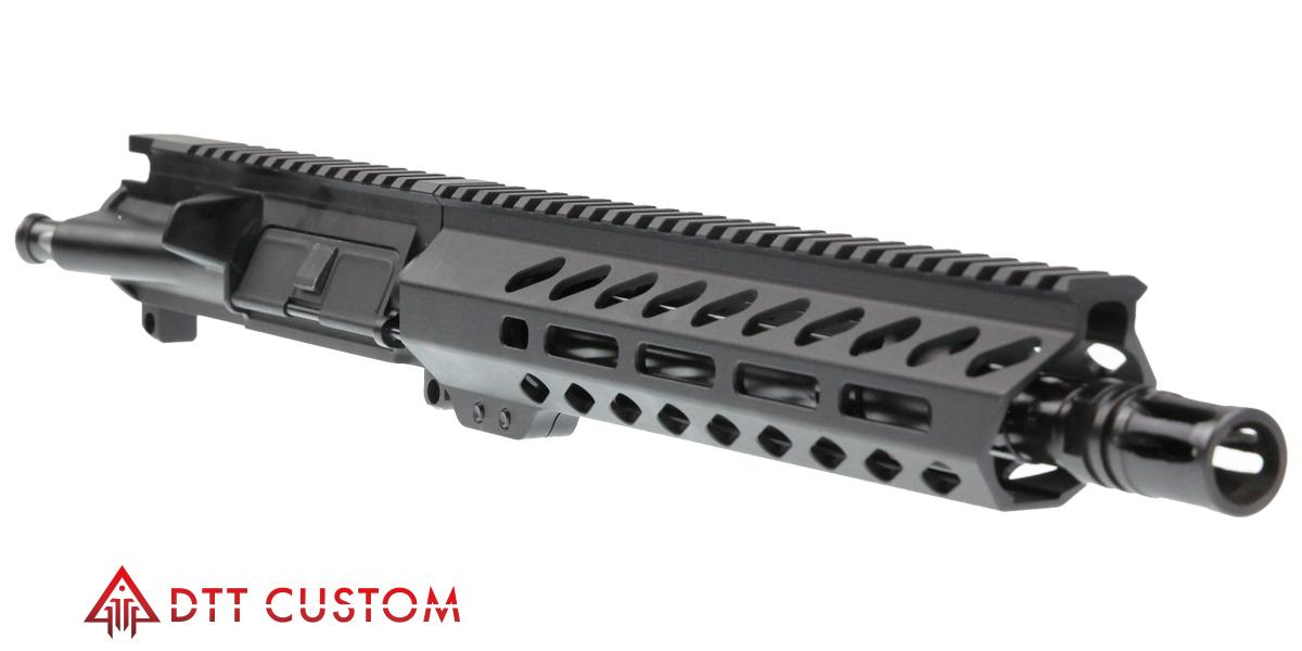 "Davidson Defense AR-15 ""Fir"" Pistol Upper Receiver 10 5"" 5 56 NATO 4150 CMV  1-7T Barrel 10"" M-Lok Handguard - $144 99"