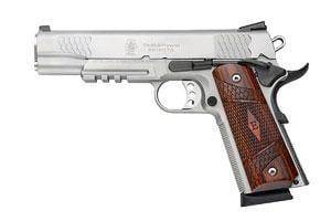 Smith & Wesson SW1911TA Enhanced E Series Tactical Acc Rail 45ACP 022188084115