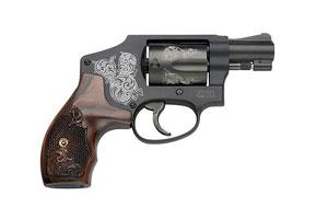 Smith & Wesson Model 442 - Centennial Airweight, Machined Eng 38SP 150785