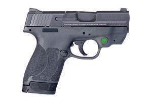 Smith & Wesson M&P Shield M2.0 W/ Crimson Trace Green Laser 40SW 11902