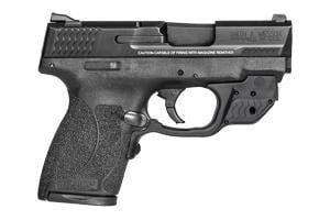 Smith & Wesson M&P Shield W/ Green Crimson Trace Laserguard 45ACP 11881