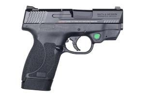 Smith & Wesson M&P Shield M2.0 Green Crimson Trace Laserguard 45ACP 12089