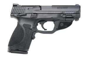 Smith & Wesson M&P9 M2.0 Compact W/ Crimson Trace Green Laser 40SW 12416