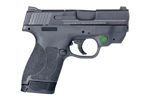 Smith & Wesson M&P Shld M2.0 Crimson Trace Green Laser MA Comp 9MM 12469