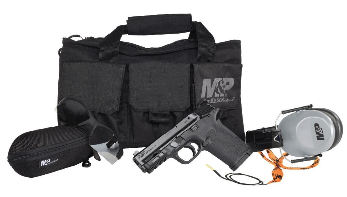 Smith and Wesson M&P380 Shield EZ Range Kit 380 ACP 022188881981