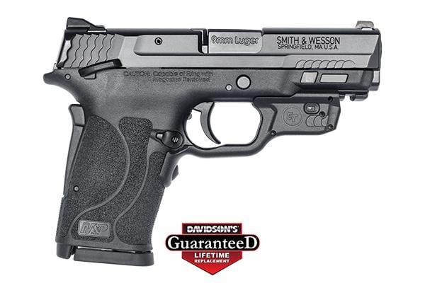 Smith & Wesson M&P Shield EZ M2.0 9MM W/Crimson Trace LG 9MM 12438